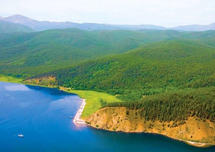 Путешествие по России Байкал  великое озеро 5