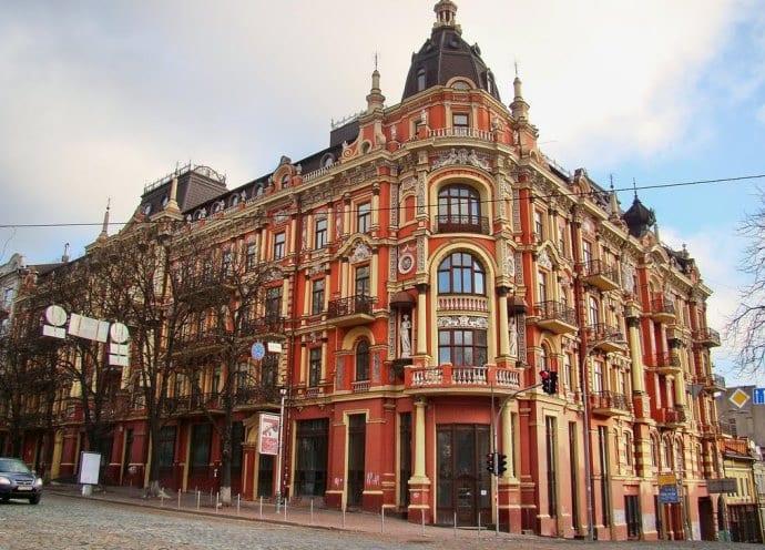 Самый старый отель Киева 4