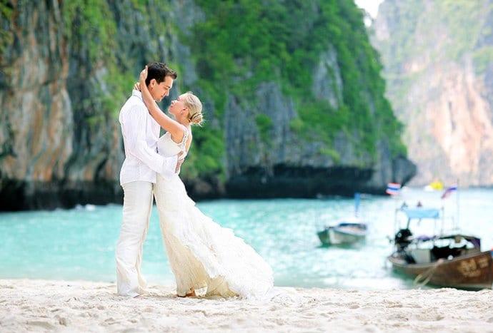 Свадебное путешествие и церемония на курорте 2