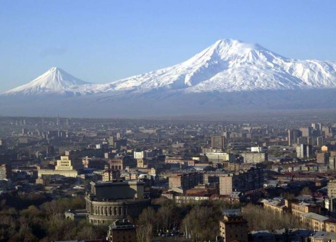 Интересные места Европы Розовый город Ереван 2