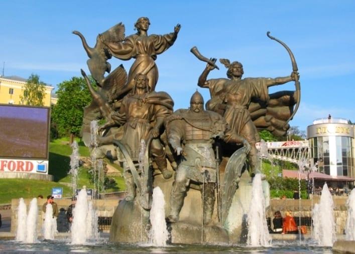 Столица Украины Киев 2