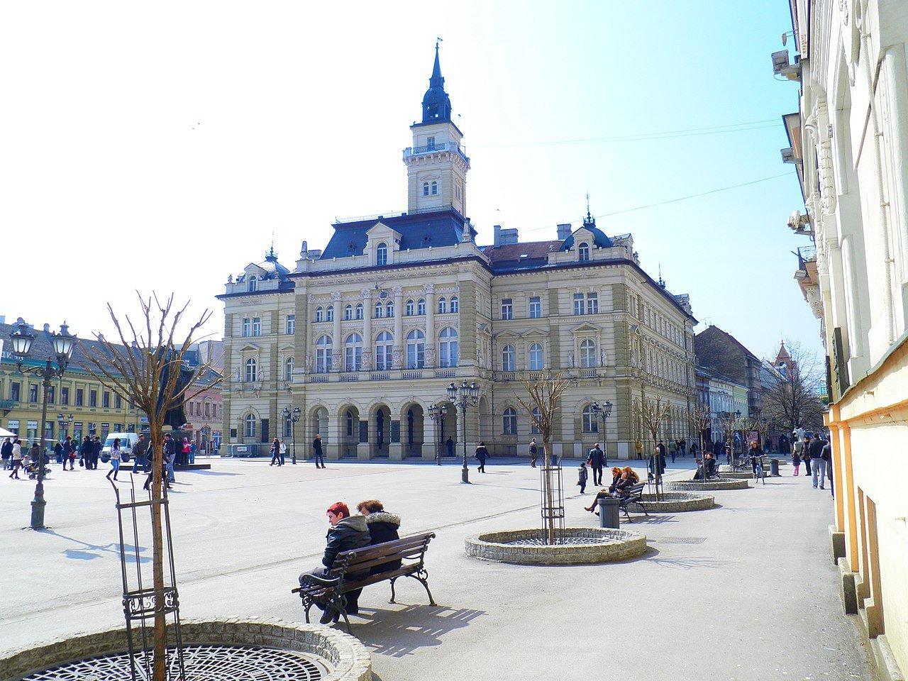 Площадь Свободы в Нови-Саде
