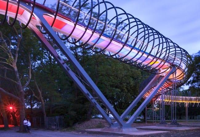 Спиральный мост в городе Оберхаузен 5