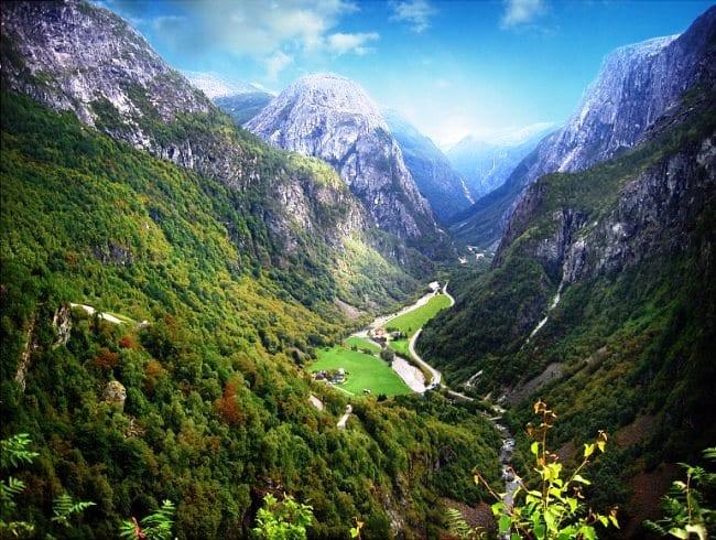 Страна троллей и гномов  Норвегия 3