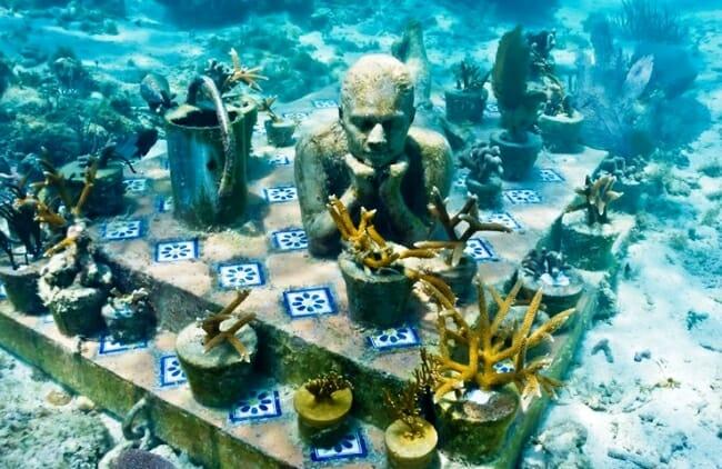 Подводные скульптуры острова Гренада