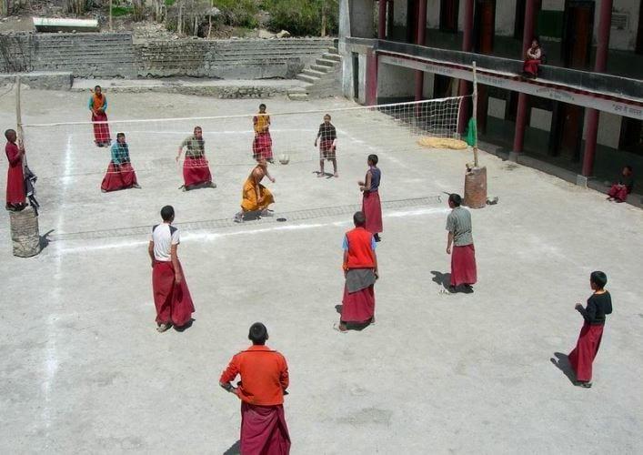 Буддийский храм Ки Гомпа 5