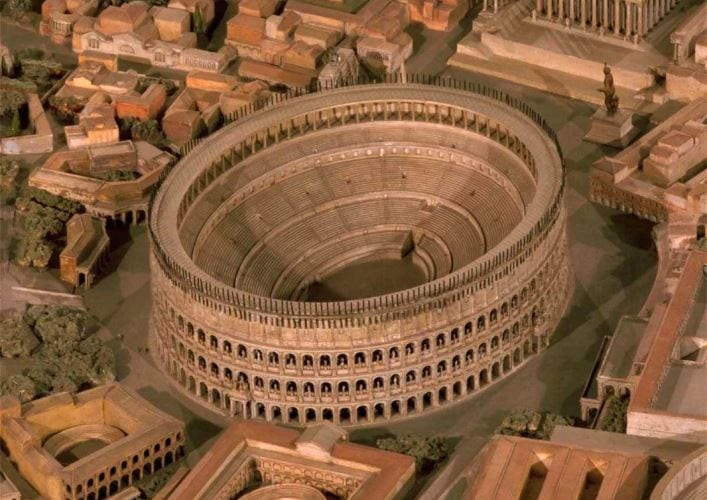 Путешествие по Италии Колизей 2