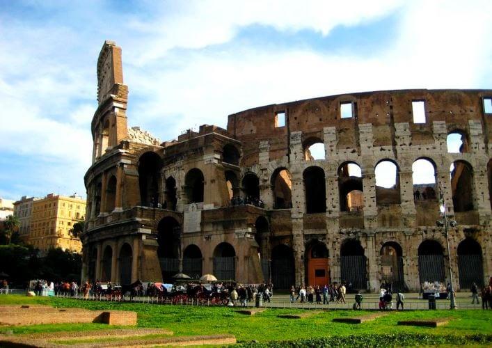Путешествие по Италии Колизей 3