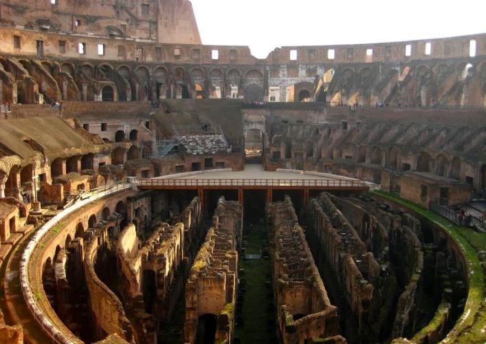 Путешествие по Италии Колизей 4