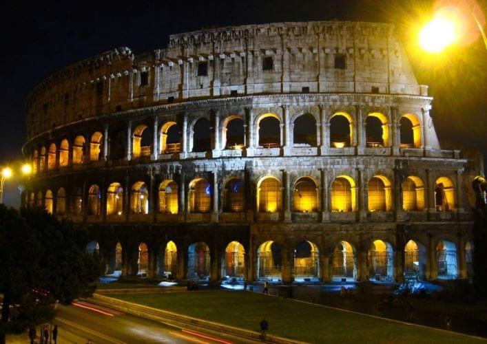 Путешествие по Италии Колизей 5