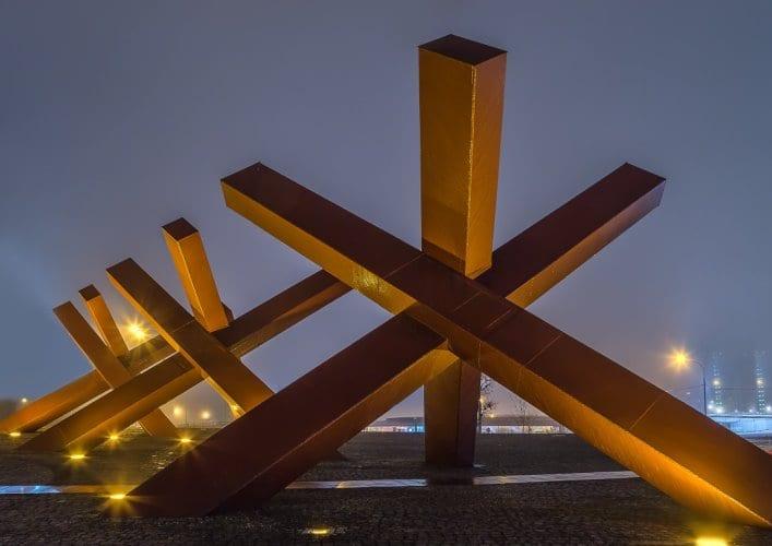 Монумент защитникам Москвы Ежи 5
