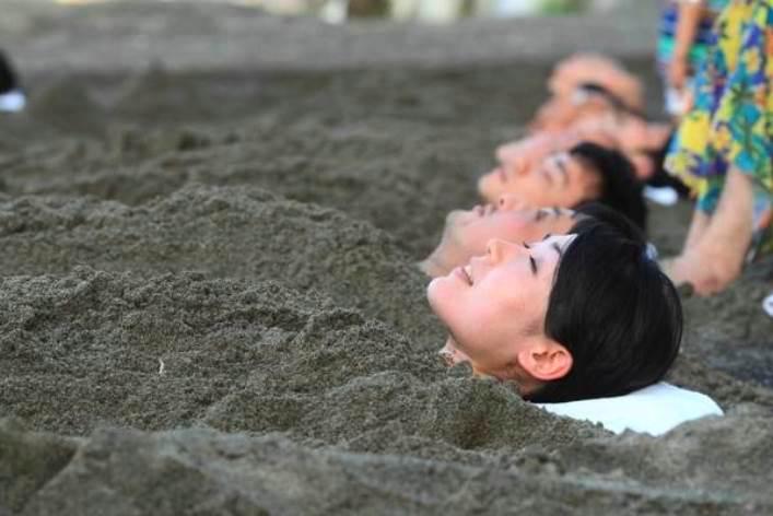 Песчаные ванны острова Кюсю 2