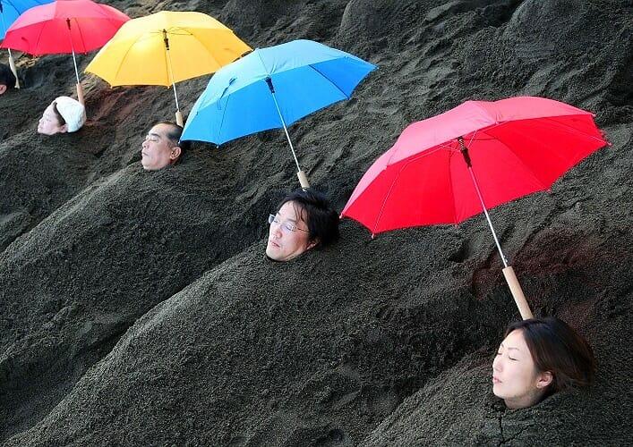 Песчаные ванны острова Кюсю 4
