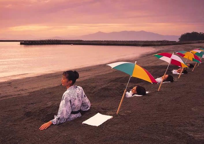 Песчаные ванны острова Кюсю 5