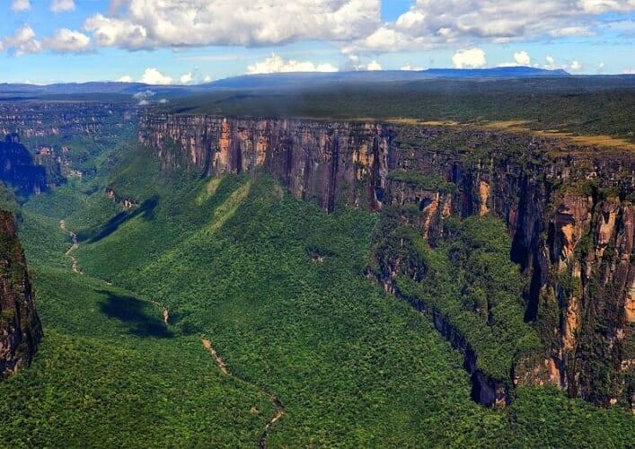Тепуи. Национальный парк Канайма в Венесуэле 5