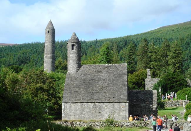 Поселения и ландшафт Ирландии в раннем средневековье