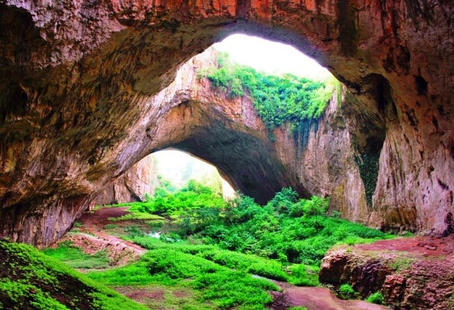 Карстовая пещера Девяташка в Болгарии 5 1516.ев