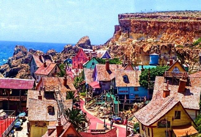 Деревня Попай Вилладж 2 1536.ев