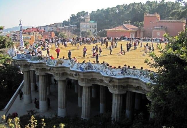 Древний город Барселона Парк Гуэля 3