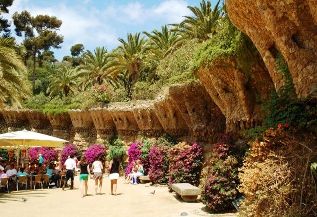 Древний город Барселона Парк Гуэля 4