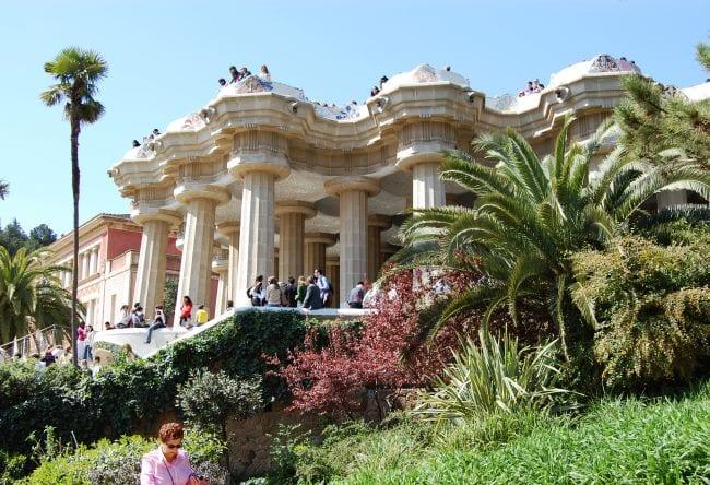 Древний город Барселона Парк Гуэля 5
