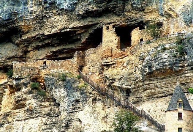 Красивая деревня La Roque-Gageac 4