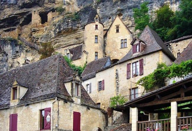 Красивая деревня La Roque-Gageac 5