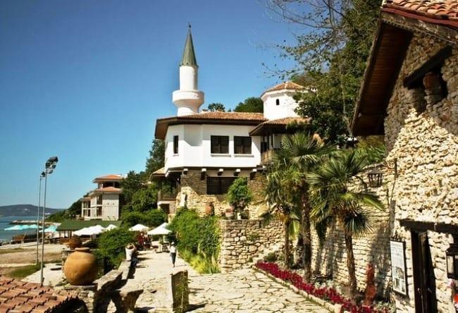 Курортный городок Балчик Болгарский 5