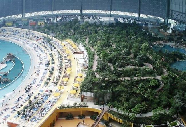 Тропический остров под куполом 3
