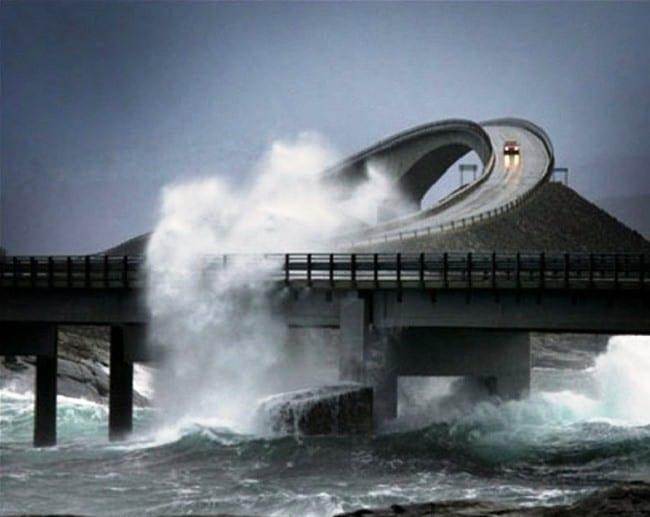 Атлантическое шоссе, Норвегия