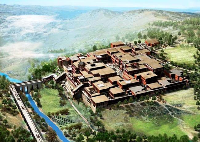 Кносский дворец – уникальное творение древнегреческих зодчих