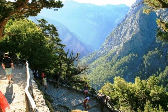 Самарийское ущелье – критский каньон