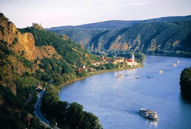 Международная река Дунай