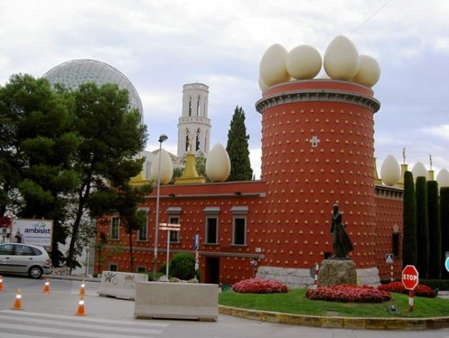 Торре Галатея - золотое здание в Испании!