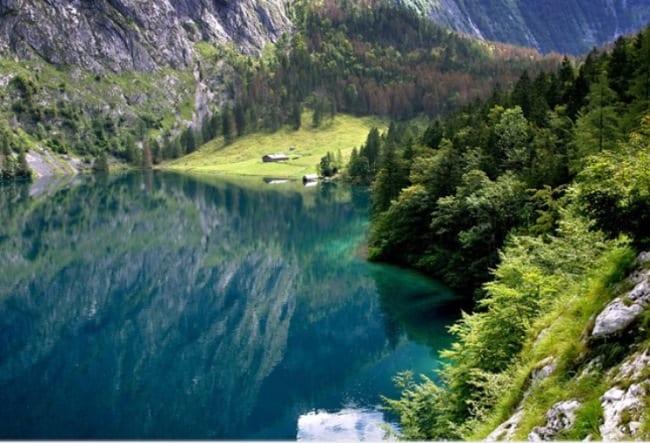 Кристально чистое озеро Кенигсзее
