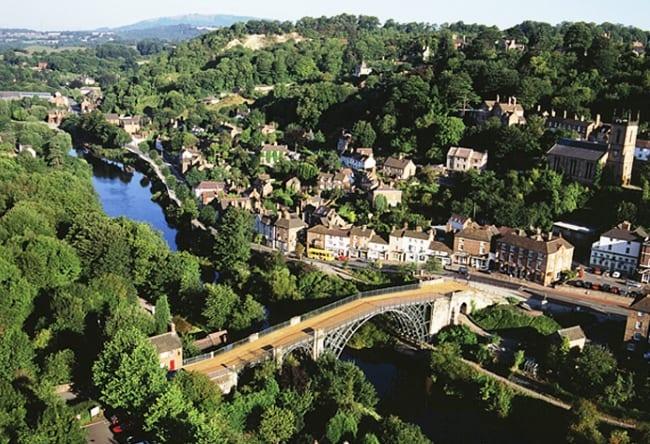 Айронбридж - Чугунный мост через реку Северн