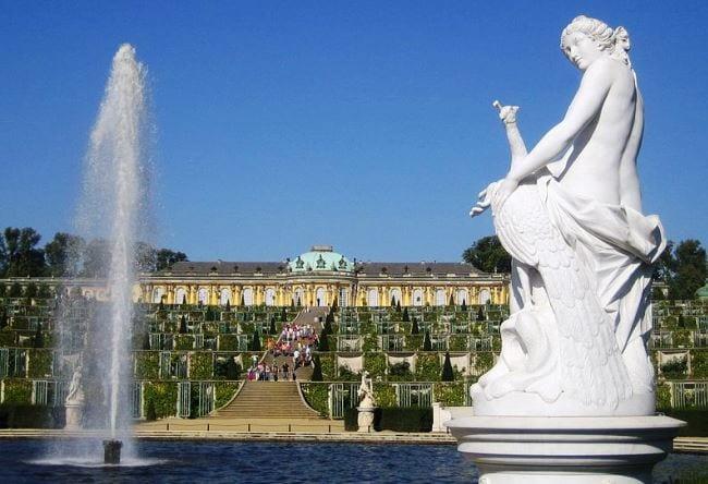Прусский Версаль резиденция прусских монархов в Сан-Суси