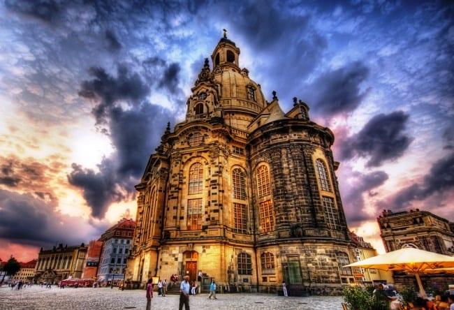 Рожденная трижды - церковь Фрауэнкирхе