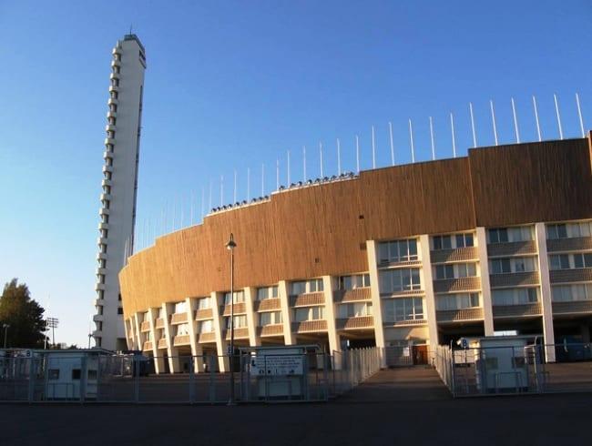 Хельсинский Олимпийский стадион в идеальном городе для туристов
