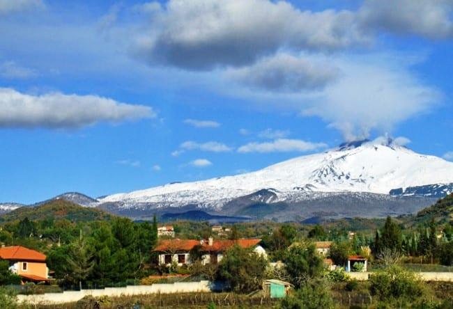 Жерло гиганта   вулкан Этна 4