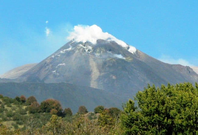 Жерло гиганта   вулкан Этна 5