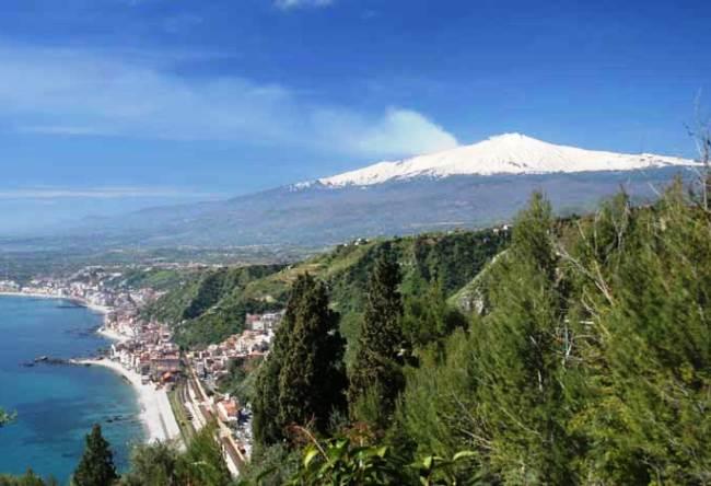 Жерло гиганта   вулкан Этна  2