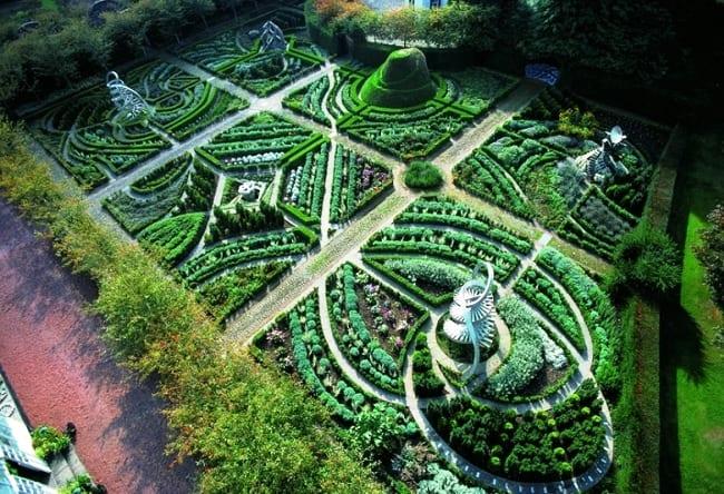 Природные элементы или воплощение космоса в саду 4