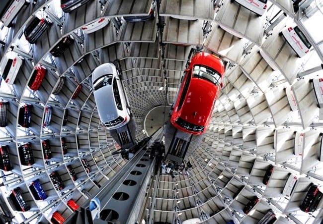 Автомобильные башни Автоштадт 2