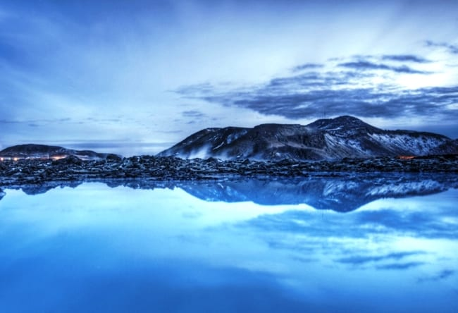 Голубая лагуна полуострова Рейкьянес 3