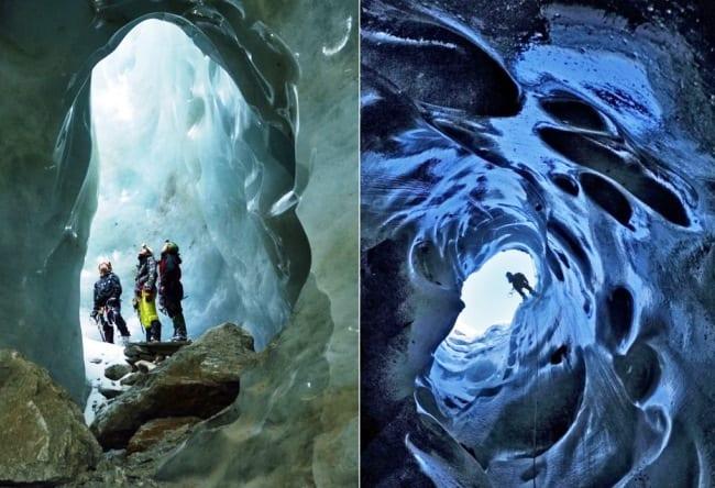 Достопримечательность природы  пещеры Мулен 2