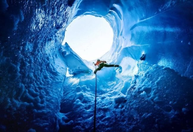 Достопримечательность природы  пещеры Мулен 3