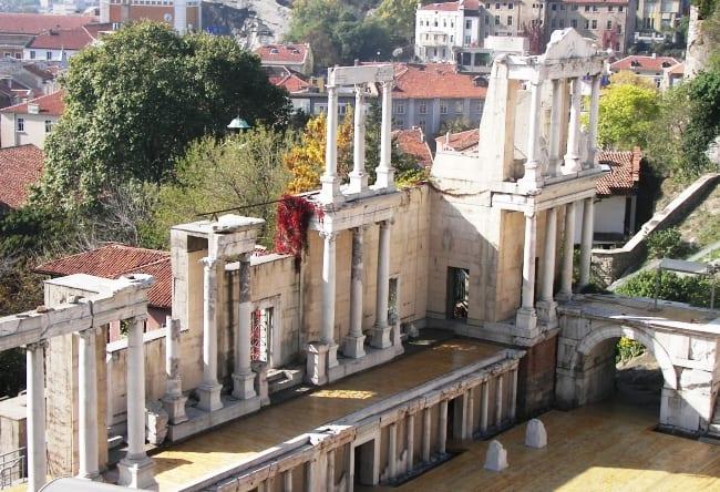 Один из древнейших городов Европы  Пловдив 4