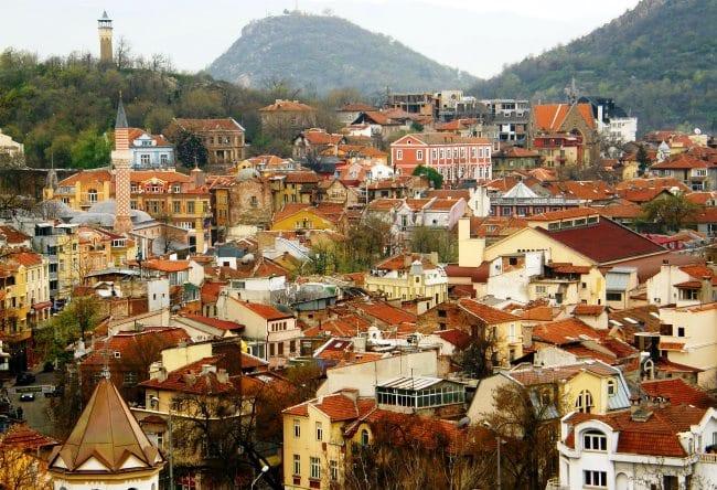 Один из древнейших городов Европы  Пловдив 8