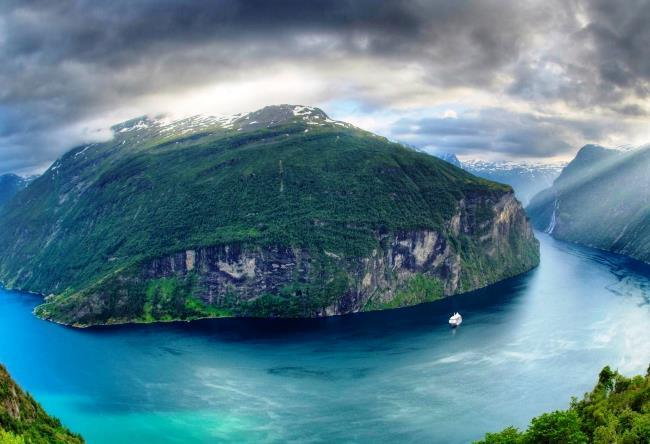 Фьорды в Норвегии 2